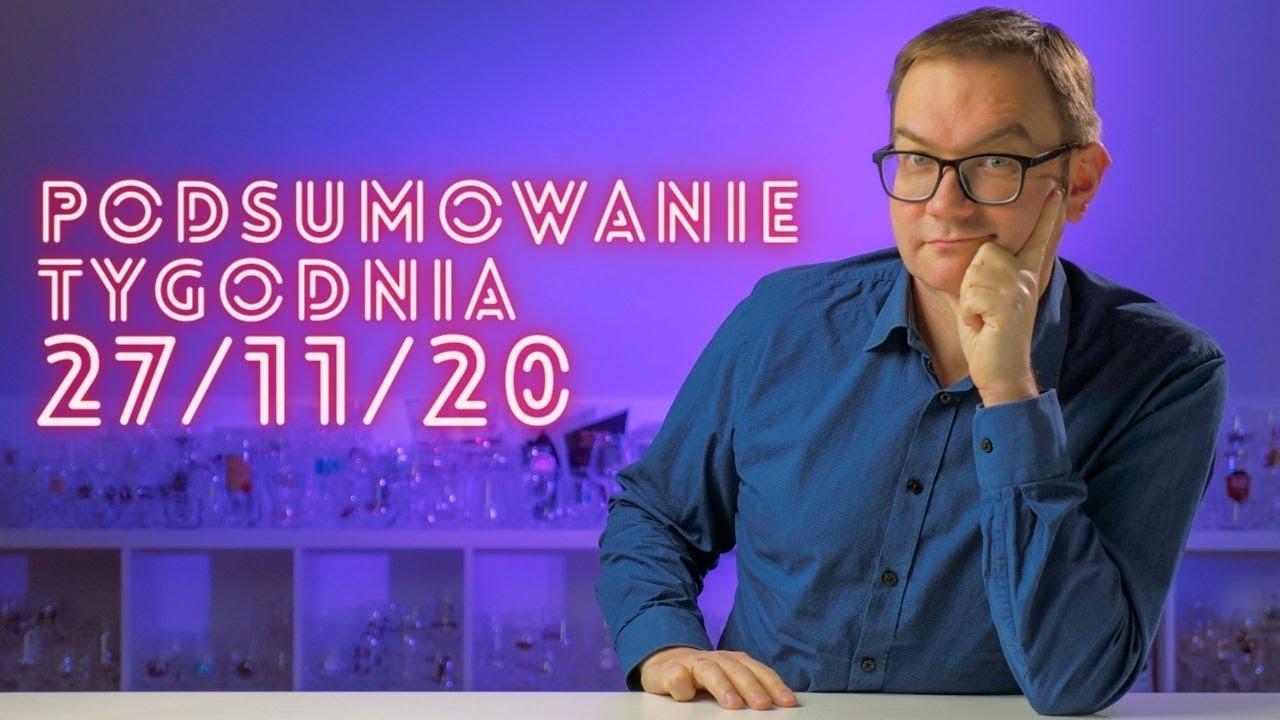 Podsumowanie Tygodnia 27.11.20 LIVE 🔴  #NIEoPIWIE