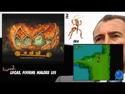 Review de merde HD #1411 : Lucas, fourmi malgré lui [GBA & PS2] streaming vf
