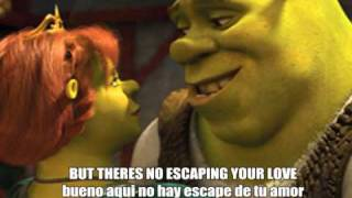 Accidentally in love (inglés español letras with lyrics)