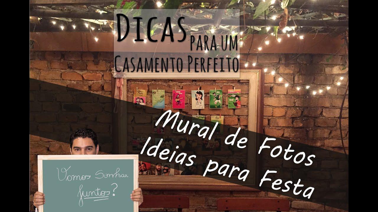 Mural de fotos para sua festa ideias criativas ideias a - Mural de fotos ...