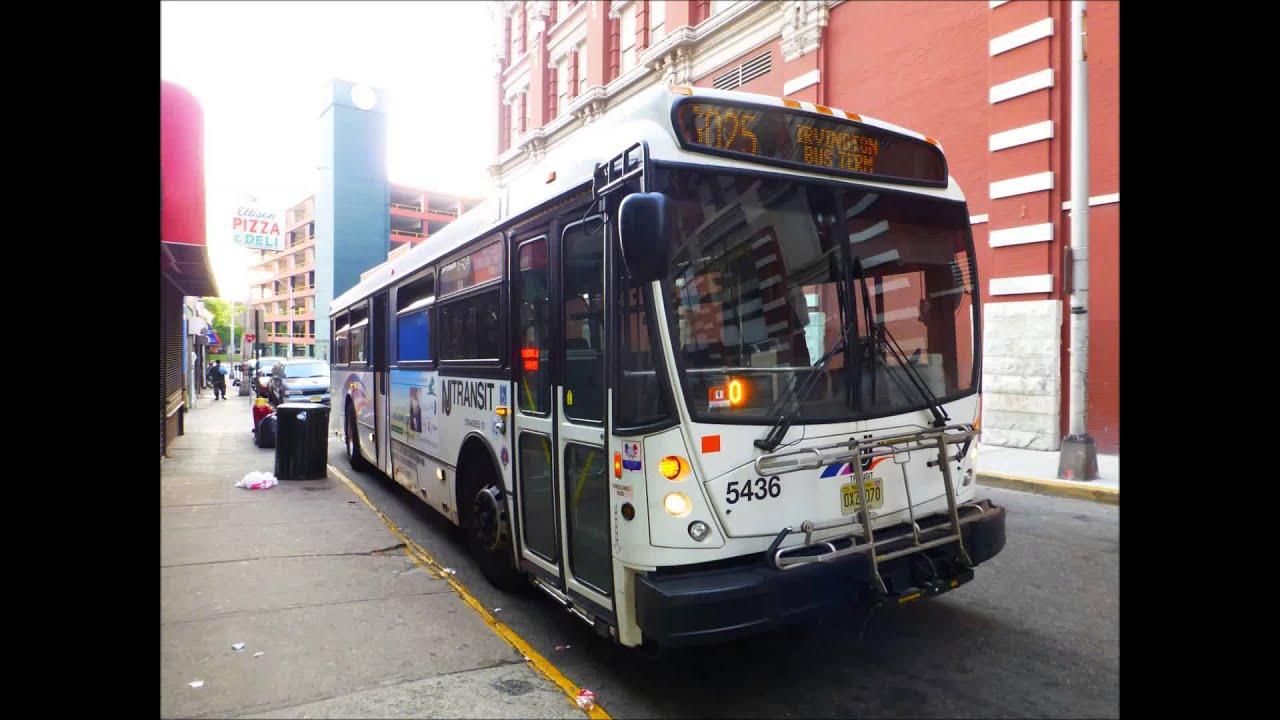 Audio Recording New Jersey Transit North American Bus