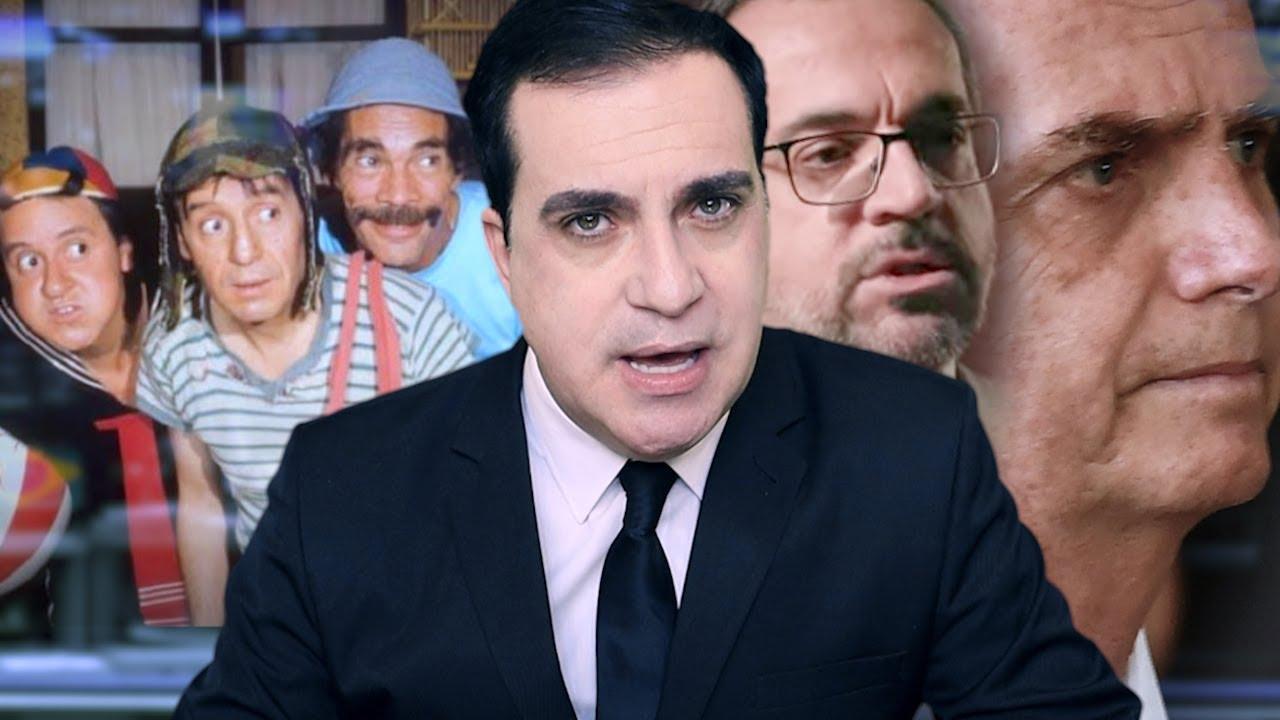 Saúde de Bolsonaro preocupa, SBT é proibido de exibir CHAVES, Abraham Weintraub foi aprovado e mais!