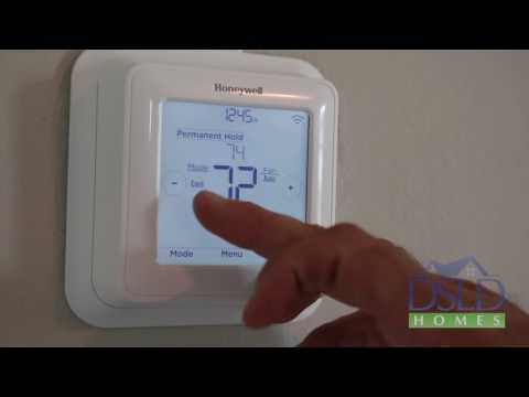 Honeywell® T6™ T-Stat Manual Control