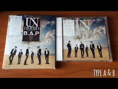 170701 UNBOXING - 비에이피 B.A.P Unlimited Japanese Album ( Type A + B + Ultimate Edition )