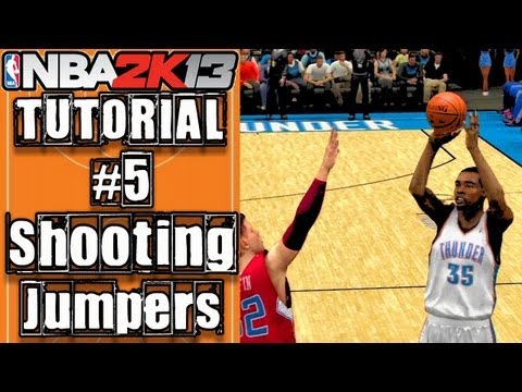 NBA 2K13 Ultimate Shooting Tutorial: How To Do Floaters, Fade-aways & More