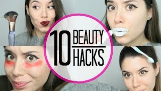 10 BEAUTY HACKS I ACTUALLY USE (ITA)