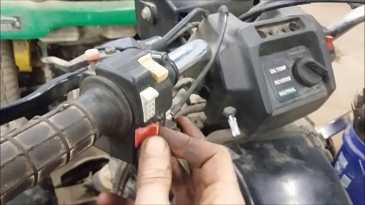 1986 Honda Fourtrax 350 Killswitch Bypass Youtube 89 Wiring Diagram