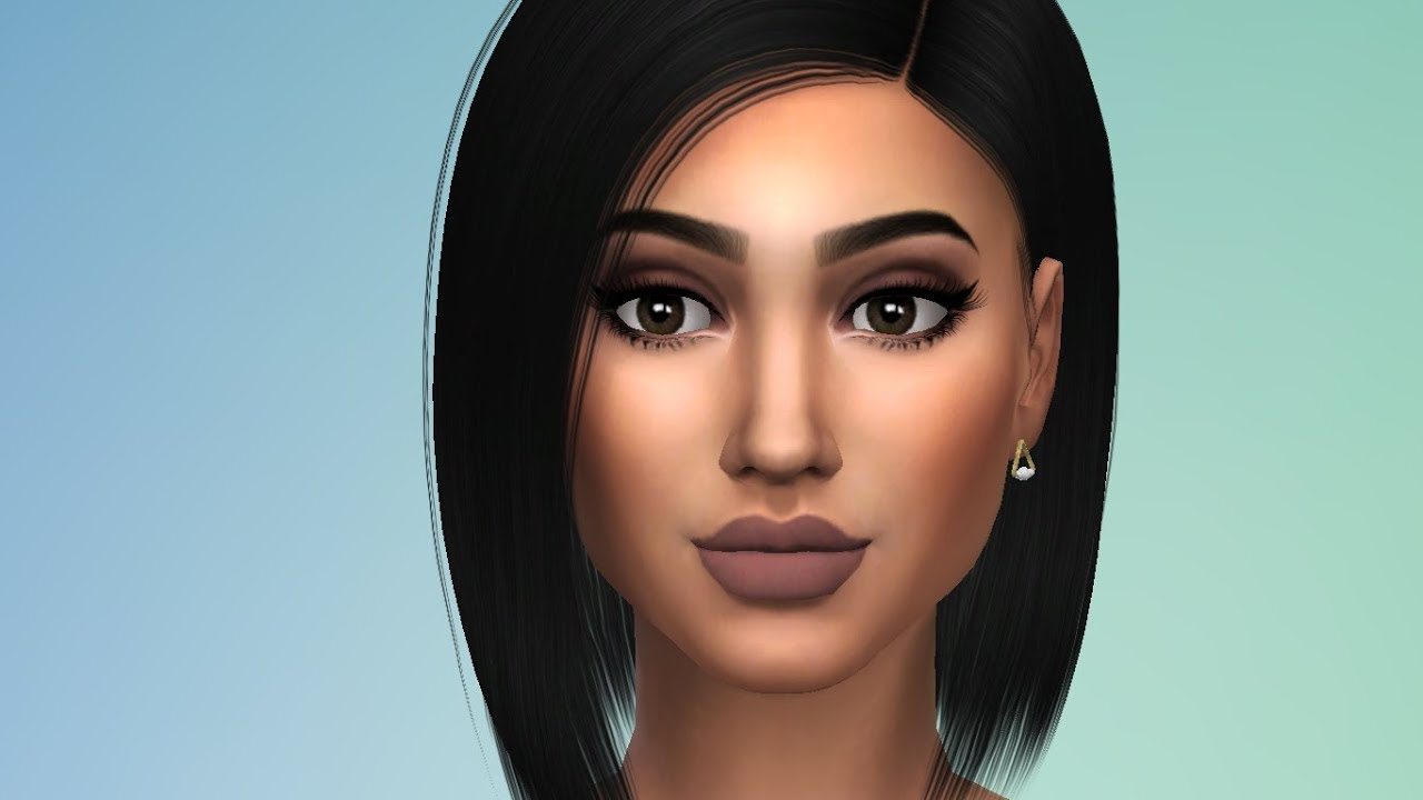 the sims 4 kylie jenner cc download youtube