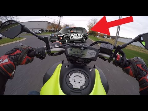 How I NEVER get tickets on a Motorcycle
