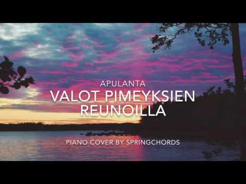 Apulanta - Valot Pimeyksien Reunoilla (piano instrumental cover)
