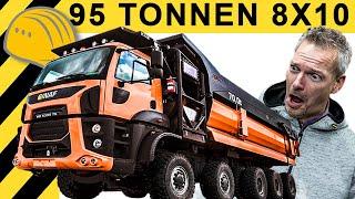 GINAF Trucks - Extreme LKW | Hausbesuch & Factory Tour | 10x8 mit 95 Tonnen!