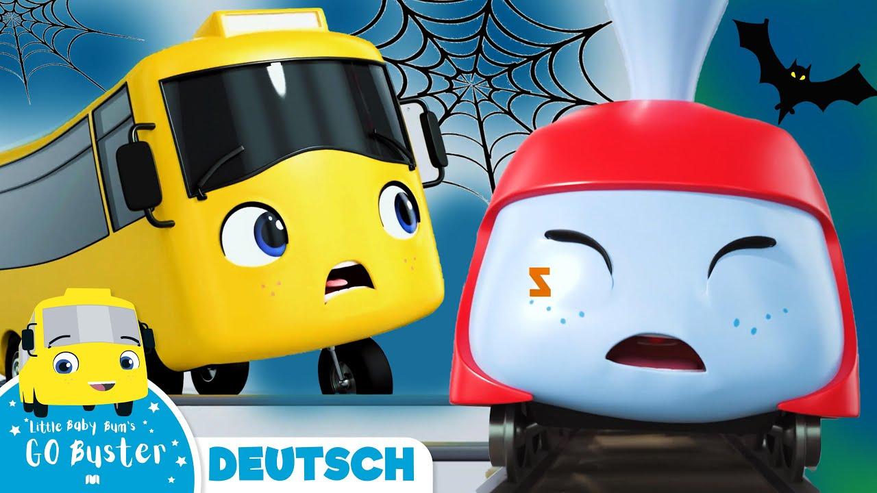 Halloween Special! Buster und der schläfrige Zug | Go Buster Deutsch | Cartoons für Kinder
