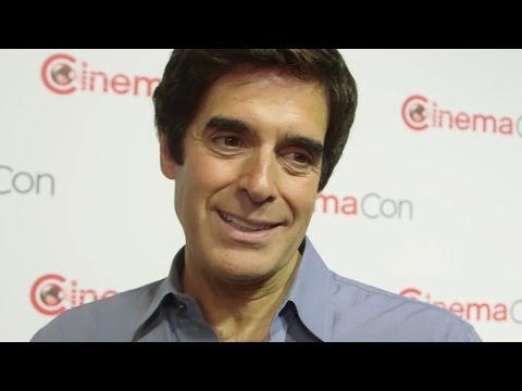 David Copperfield Talks 'Now You See Me 2' Magic - CinemaCon 2016
