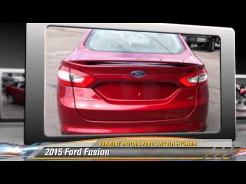 2015 ford fusion sunbury pa fb967 youtube for Sunbury motors ford sunbury pa