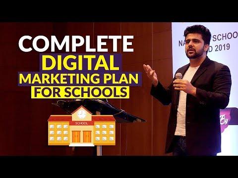 Complete Digital Marketing Plan For Schools