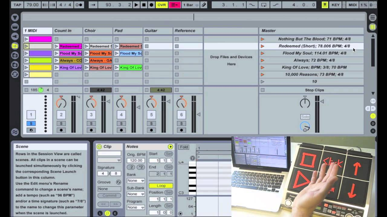 how to midi map roland spd s in ableton live youtube. Black Bedroom Furniture Sets. Home Design Ideas