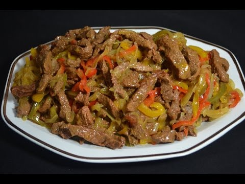 How to Cook Mexican Beef Fajitas