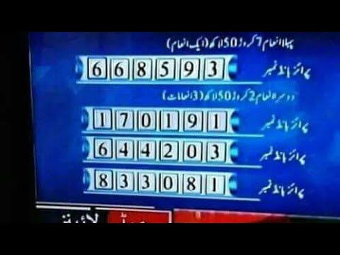 Kohenoor Live Draw Result For Bond - 40000 City - Lahore