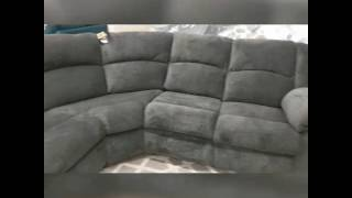 Ashley furniture's timpson reclining sectional overview.