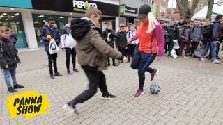 NUTMEGS IN CANTERBURY (CRAZY REACTIONS!) | PANNA SHOW