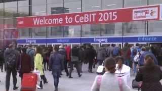 CeBIT 2015 - Impressionen der wichtigsten Computermesse