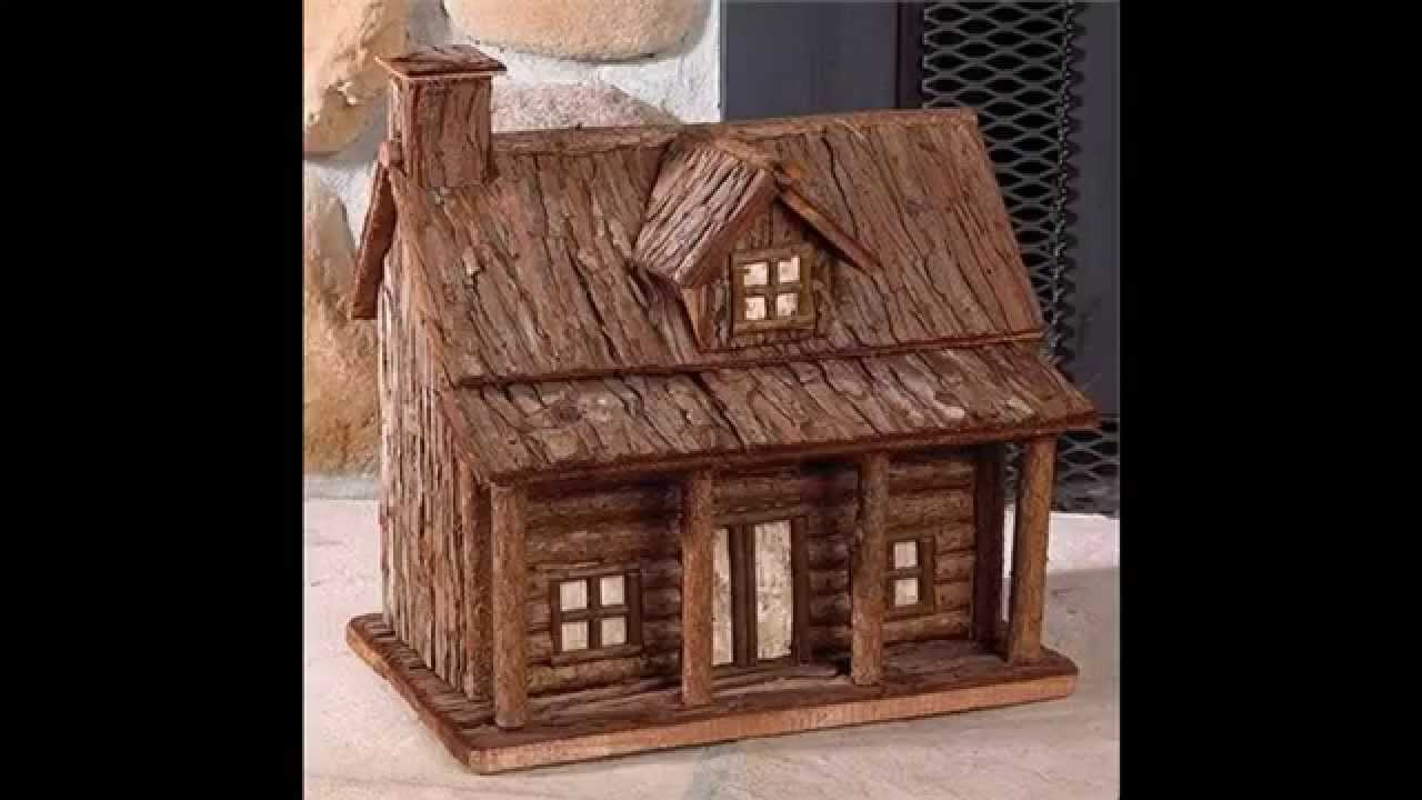 cabin home log cabins decor ideas thrifty kitchen mg decorating rustic improvement
