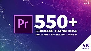 550 Seamless Transitions for Premiere Pro