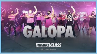 Galopa - Pedro Sampaio   Aula FitDance (Coreografia)   Dance Video