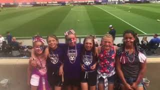 Kinzua Girls Travel Soccer Watch USWNT vs China