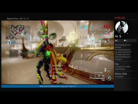 Warframe - FaitKO challenge! [Live broadcast] Duo