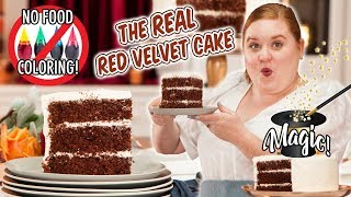 How to Make The Real Red Velvet Cake with NO Food Coloring | Smart Cookie  | Allrecipes.com