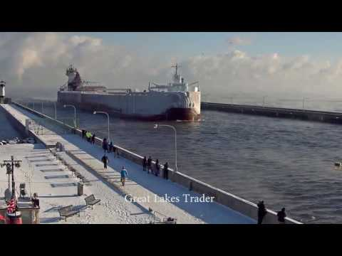 Great Lakes Trader arrived Duluth 12/13/2016