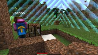Minecraft Captive Survival w/ Vaecon, Nickskibike & Space!!
