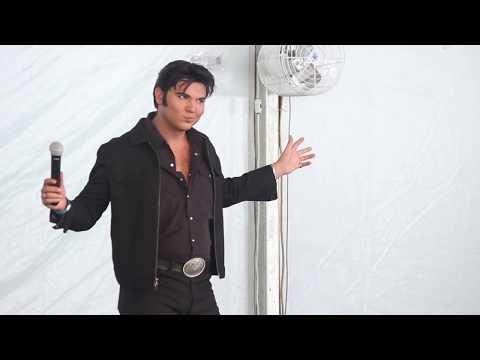 Cody Slaughter Sings 'I Got Lucky' Elvis Week 2017
