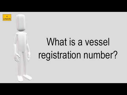 What Is A Vessel Registration Number?