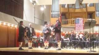 "NWS & Bagpipes  ""Amazing Grace"" Encore Keith Michael Davis"