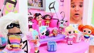 Sema'nın oteline LOL oyuncaklar geliyor. Kız oyunları.