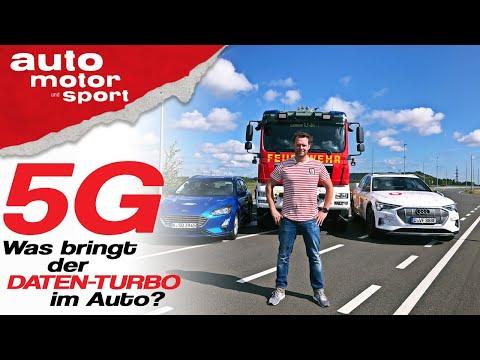 5G im Auto: Was bringt der Daten-Turbo uns Autofahrern? - Bloch erklärt #74 | auto motor und sport