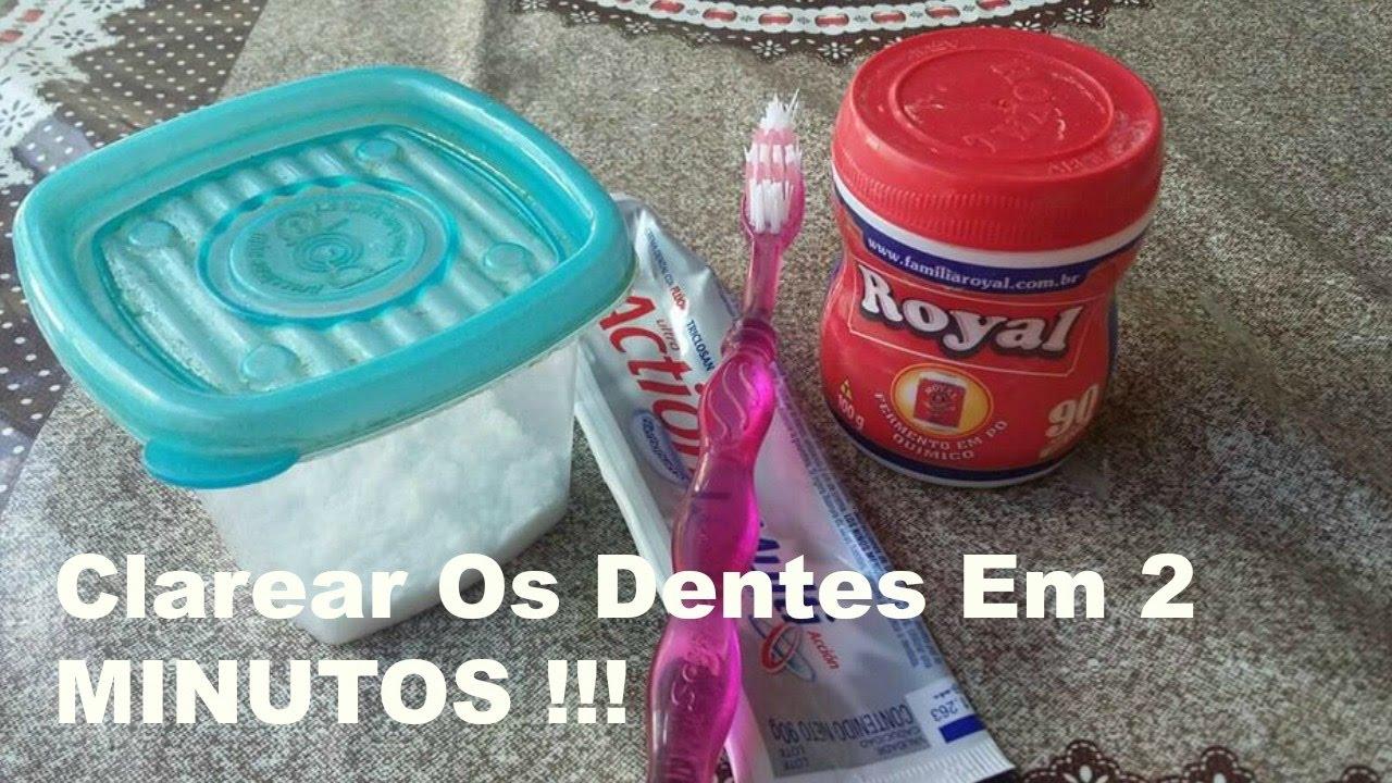 Diy Como Clarear Os Dentes Em 2 Minutos Receita Caseira Parte2