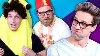 Download TRY NOT TO LAUGH CHALLENGE #22 w/ RHETT & LINK Mp3 and Videos