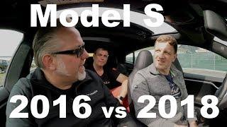 2016er Tesla Model S 60D im Vergleich zum 2018er 100D