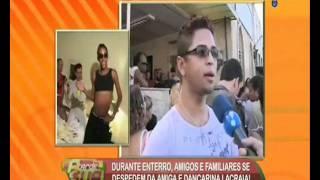 Exclusiva Sonia Abraão Enterro Da Lacraia Confiram !!!!!.