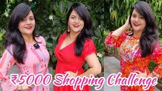 Rs 5000 Meesho Dress Shopping Challenge | Shopping Vlog