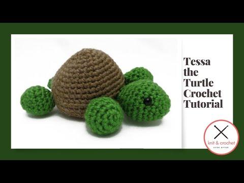 Tessa The Turtle Amigurumi Free Pattern Workshop
