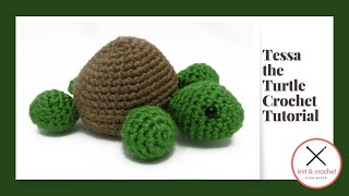 Tessa The Turtle Amigurumi Free Pattern Workshop