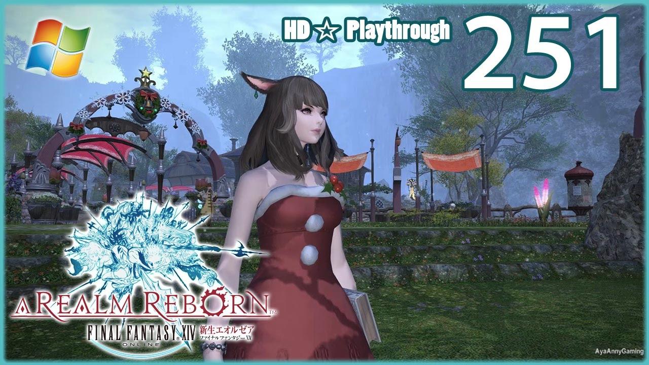 FINAL FANTASY XIV:A Realm Reborn (PC) - Pt.251 【Female Miqo'te ...