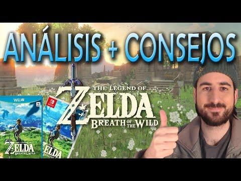 ZELDA BREATH OF THE WILD | Análisis + Consejos