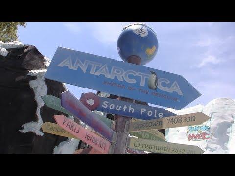 Tour of Antarctica: Empire of the Penguin with its creators at SeaWorld Orlando