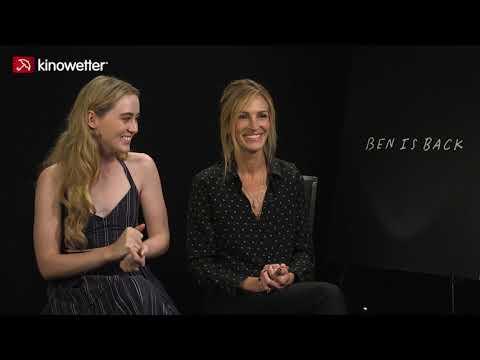 Kathryn Newton & Julia Roberts BEN IS BACK