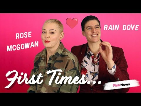 Rain Dove and Rose McGowan | First Times